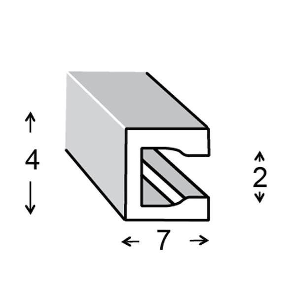 PVC 7X4X0.6