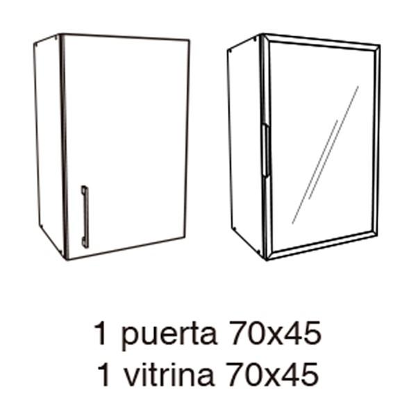 BRANCO 70X45CM