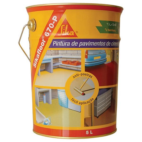 SIKAFLOOR-670 P CINZA