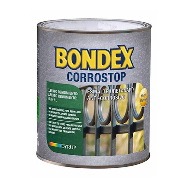 BONDEX CORROSTOP PRETO 0.75L