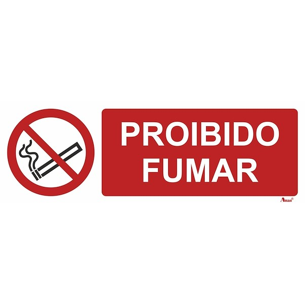 PROÍBIDO FUMAR 300MM