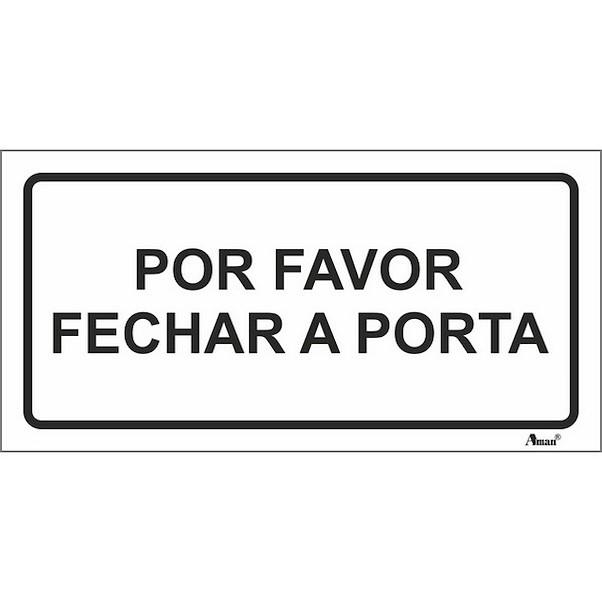 FAVOR FECHAR A PORTA 200MM