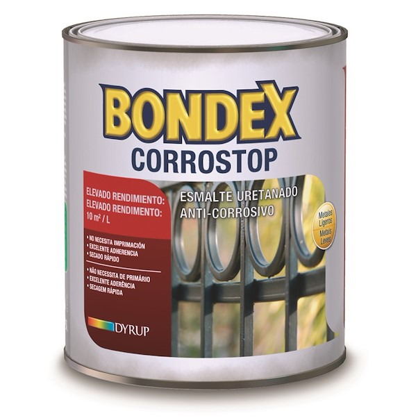 BONDEX CORROSTOP BRANCO 0.75L