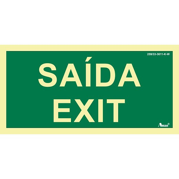 SAÍDA/EXIT 210MM