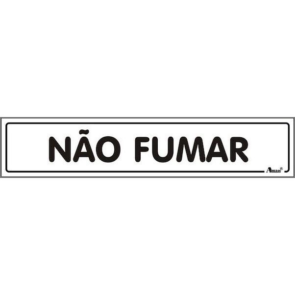 NÃO FUMAR 175MM
