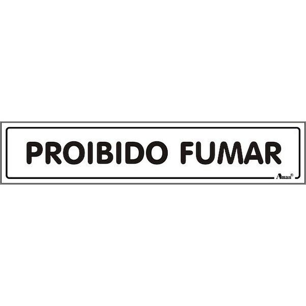 PROÍBIDO FUMAR 175MM