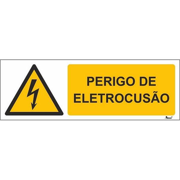 PERIGO DE MORTE 300MM