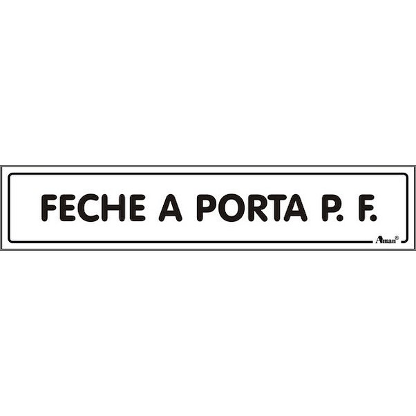 FECHE A PORTA 175MM