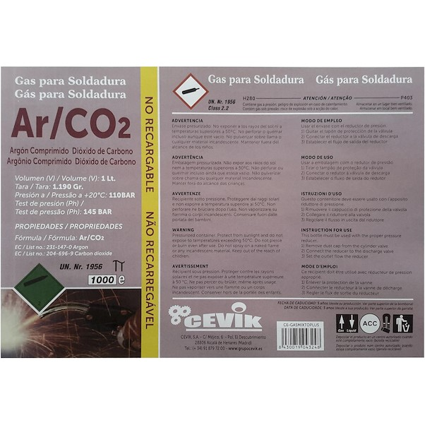 ÁRGON / CO2