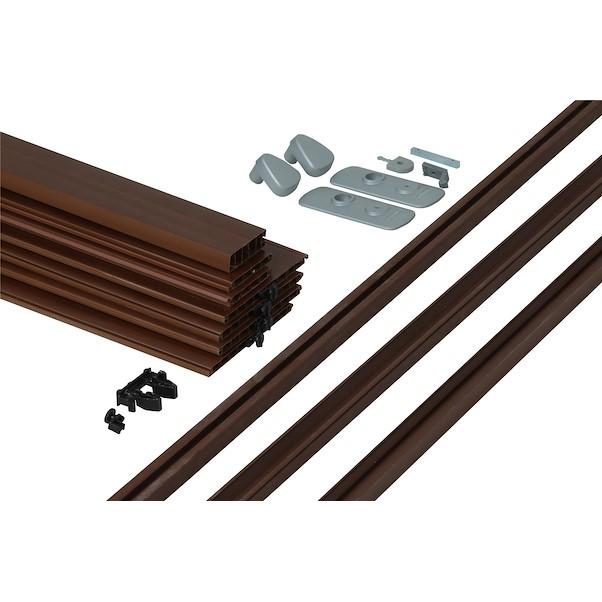 PVC SPACY CARVALHO ESCURO 84X205CM