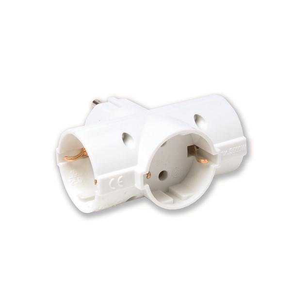 2P+T 250 V 10/16A branco