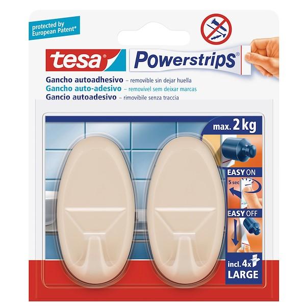 TESA POWERSTRIPS BEGE