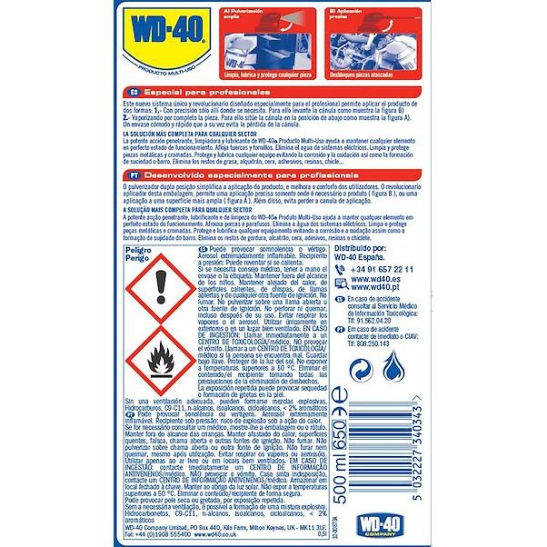 WD-40 DUPLA AÇÃO 500ML