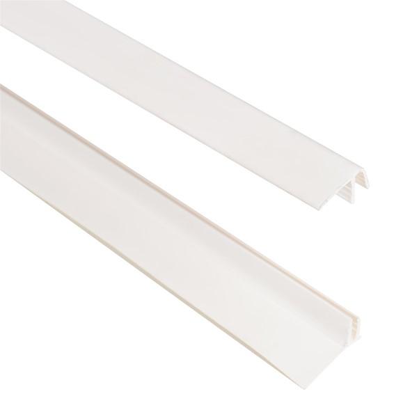 PVC CLIP BRANCO