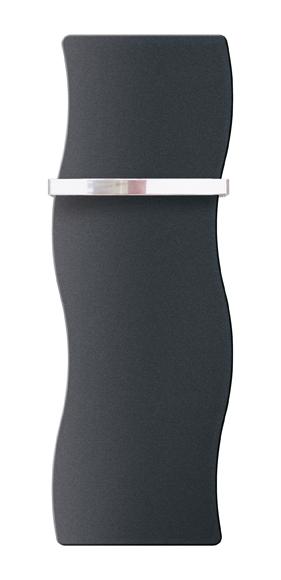 Toalheiro radiador APIS 424W 120X35CM PRETO