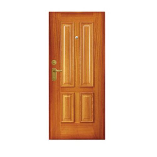 Porta de entrada blindada MAX MOGNO 85X210CM DIREITA D45TR