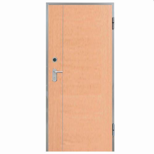 Porta de entrada blindada HI-TECH FAIA 90X200CM DIREITA FENÓLICO