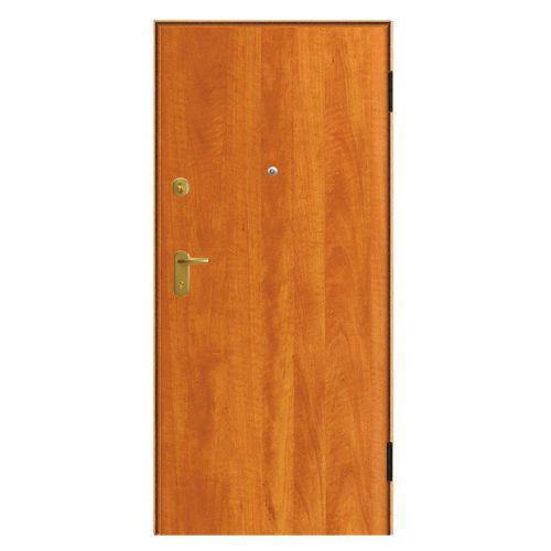 Porta de entrada blindada MAX CEREJEIRA 80X204CM DIREITA