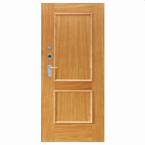 Porta de entrada blindada HI-TECH CARVALHO 80X210CM DIREITA 600SP
