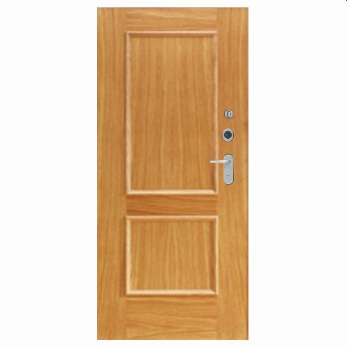 Porta de entrada blindada HI-TECH CARVALHO 80X210CM ESQUERDA 600SP