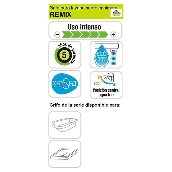 CANO ALTO REMIX PRETA