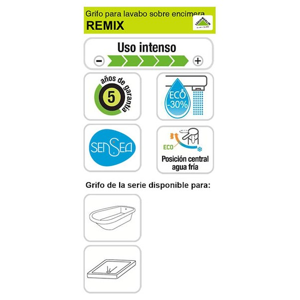CANO ALTO REMIX BRANCA