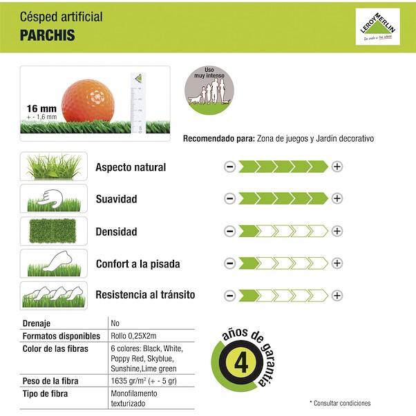 PRÉ-CORTADA PARCHIS 2X2M