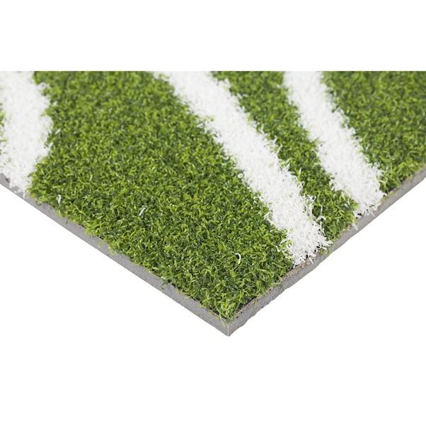 PRÉ-CORTADA FLORAL GREEN 1.4X2M