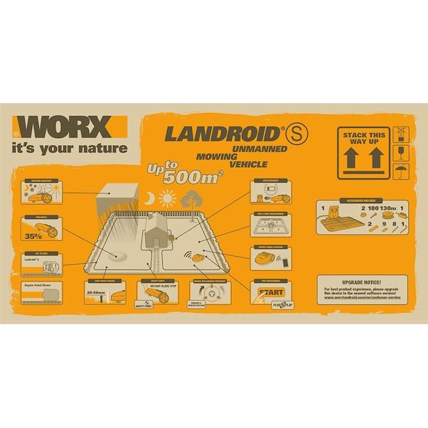 WORX LANDROID S500l