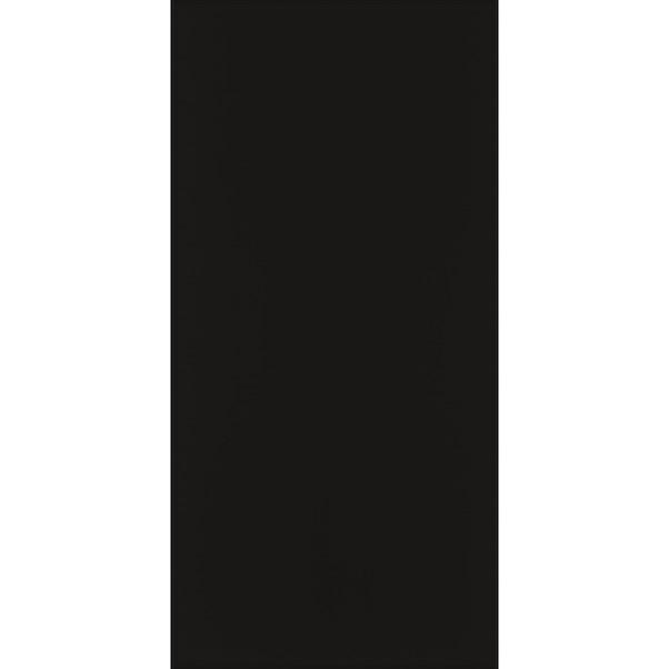 BLI GLOSSY BLACK 15X30CM