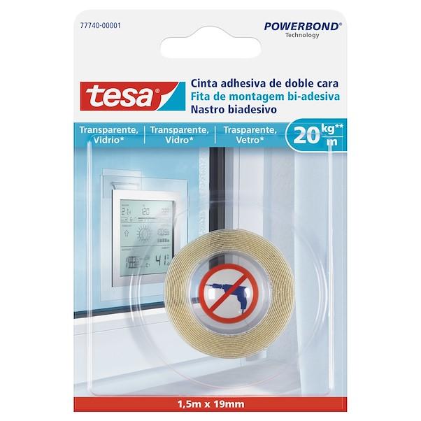 TESA PAREDE PINTADA 1.5M TRANSPARENTE