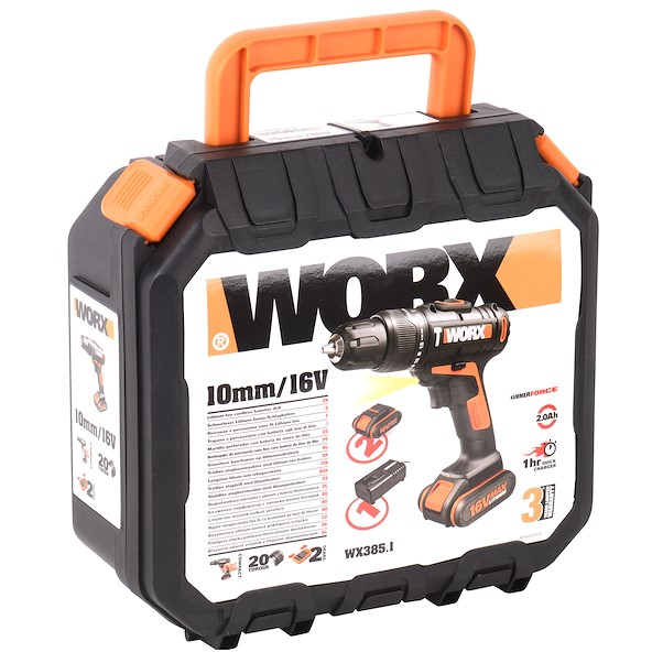 WORX WX385.1 16V 2 BATERIAS