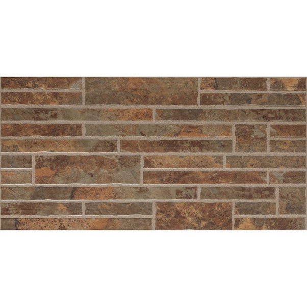 30X60CM WALL STONES BROWN