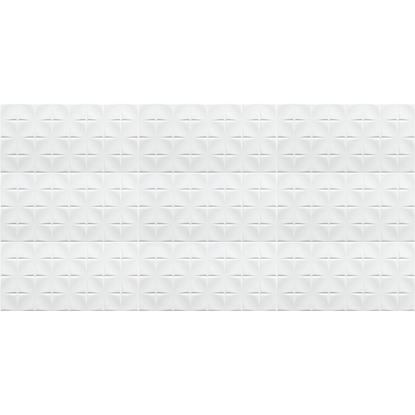TONIC ARTENS 3D CROSS BRANCO 25X50CM