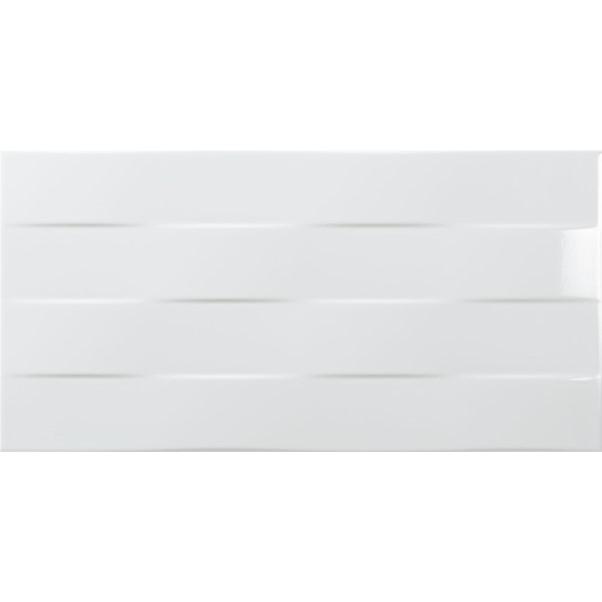 TONIC ARTENS 3D LINE BRANCO 25X50CM