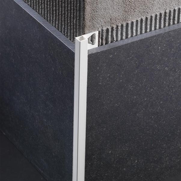 ANGULO RECTO PVC 0.60X270 BRANCO SQUARE