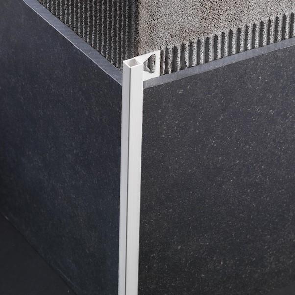 ANGULO RECTO PVC 0.80X270 BRANCO SQUARE