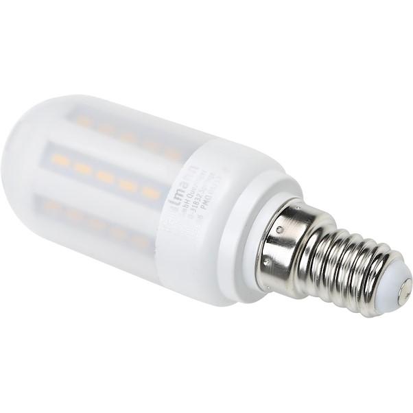LED MINITUBO E14 3.5W AMARELA MATE