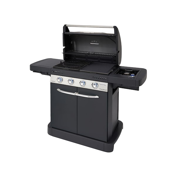barbecue a gás campingaz 4b1 master 4 lxs  leroy merlin