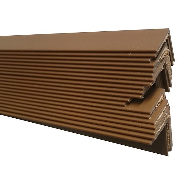 PVC CASTANHO 25X25X2600MM
