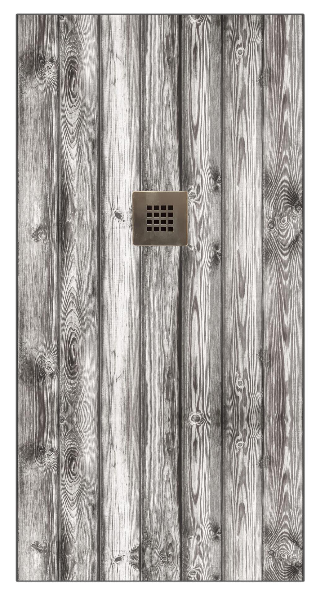 Base de duche IMAGE LAMAS 90X140 CM CINZA