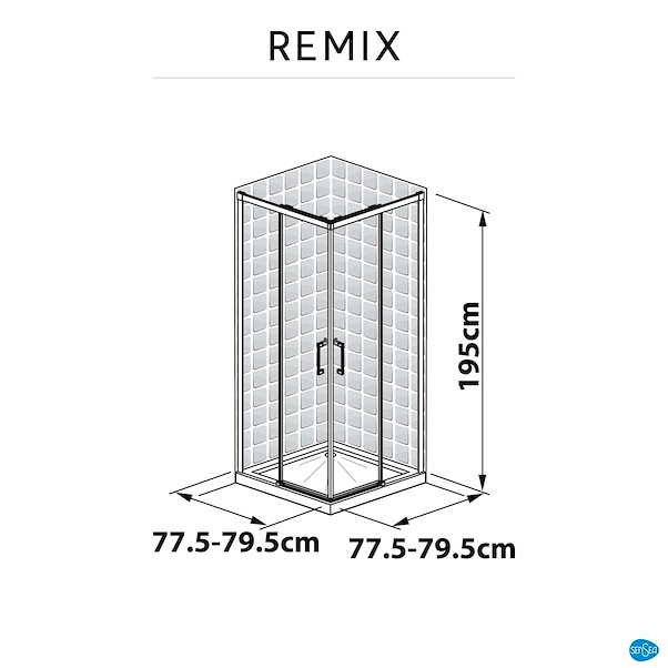REMIX 80X195CM