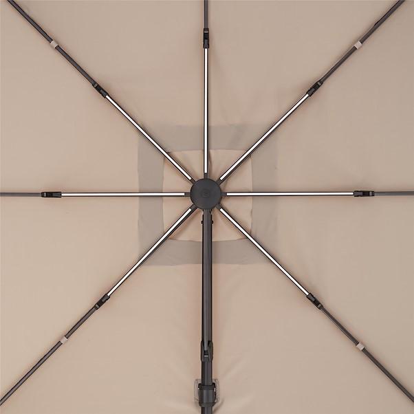 NATERIAL SONORA LED TOSTADO 290X290CM