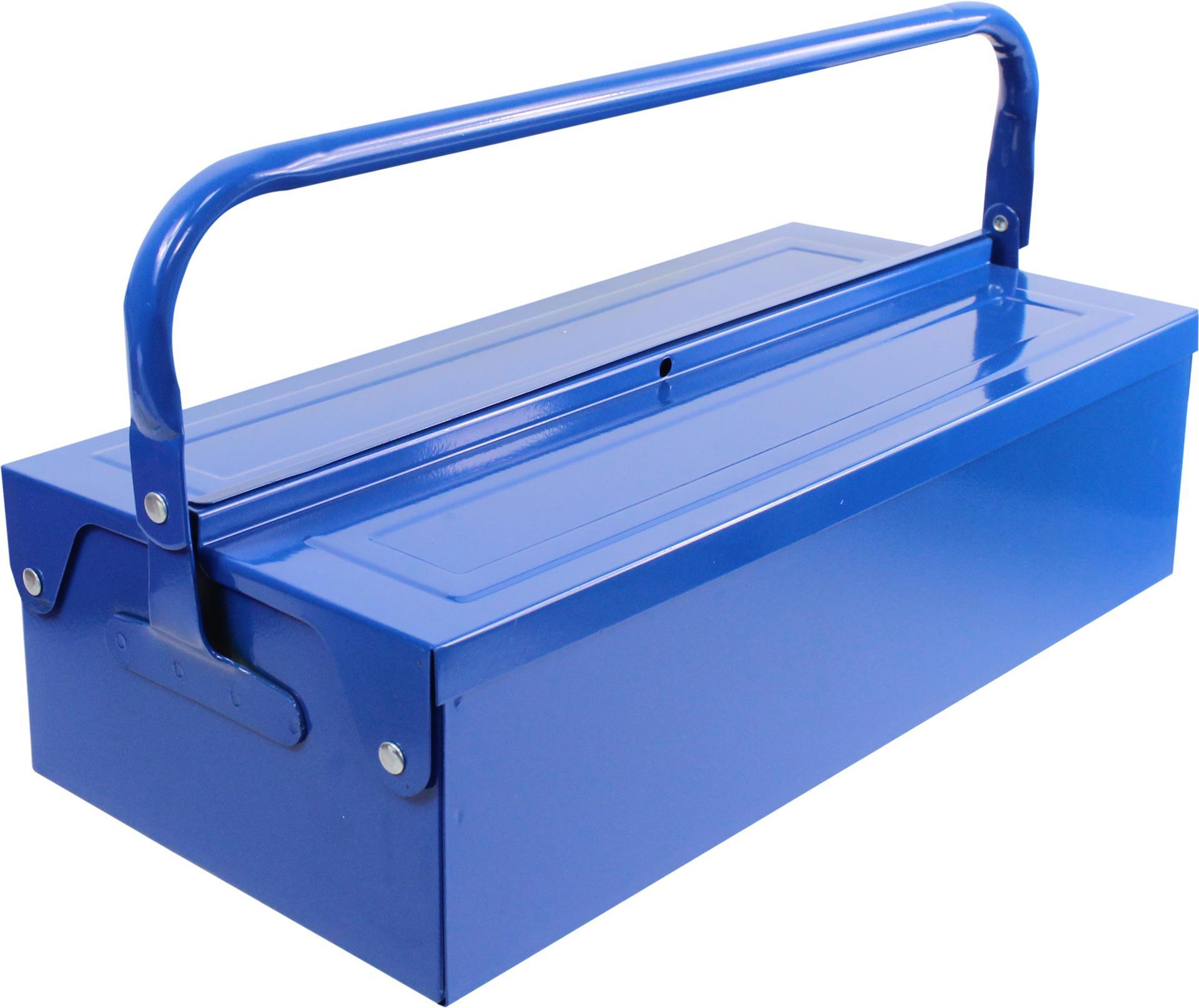 MADEIRA - Caixa de ferramentas MADER METÁLICA 420X200X110