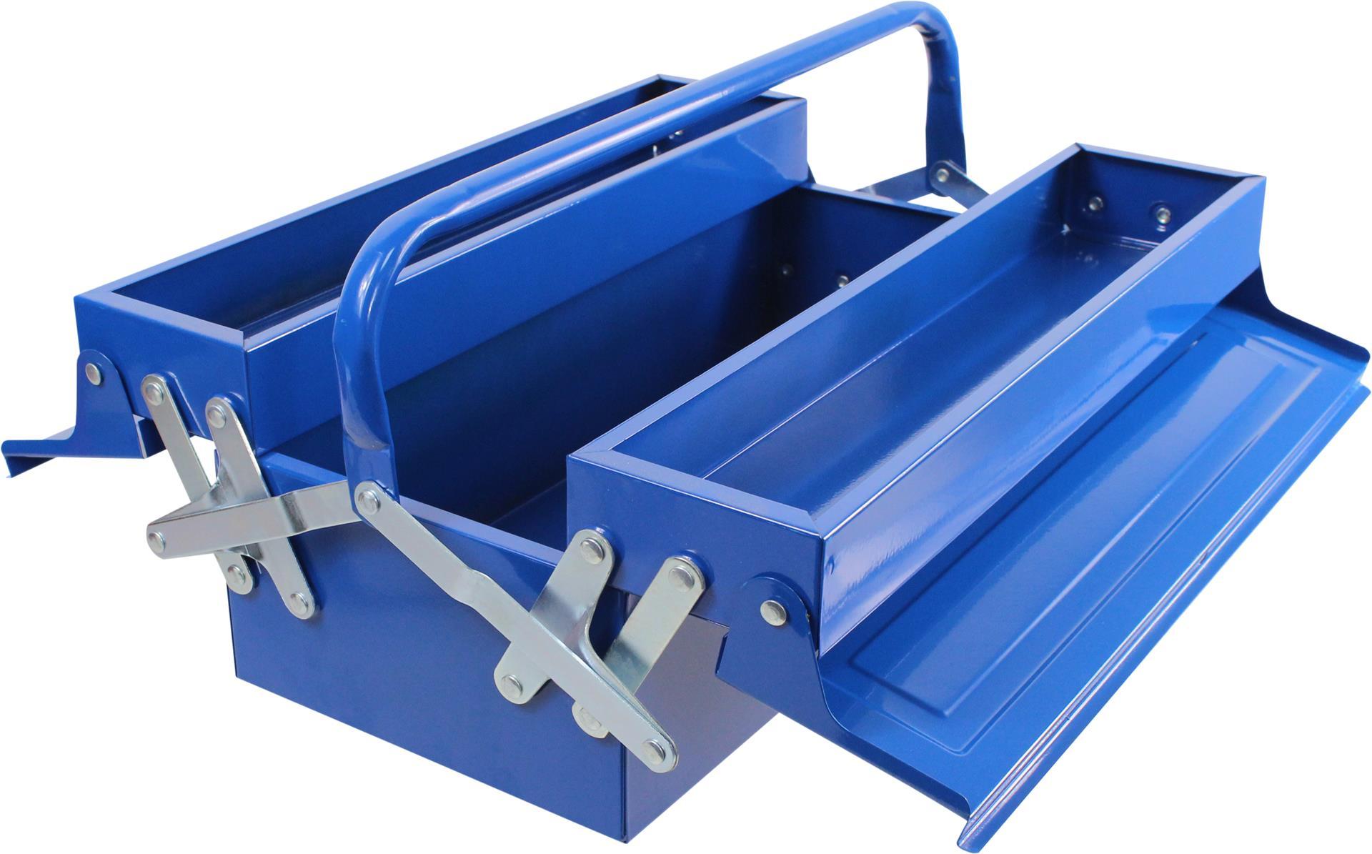 MADEIRA - Caixa de ferramentas MADER METÁLICA 465X200X160