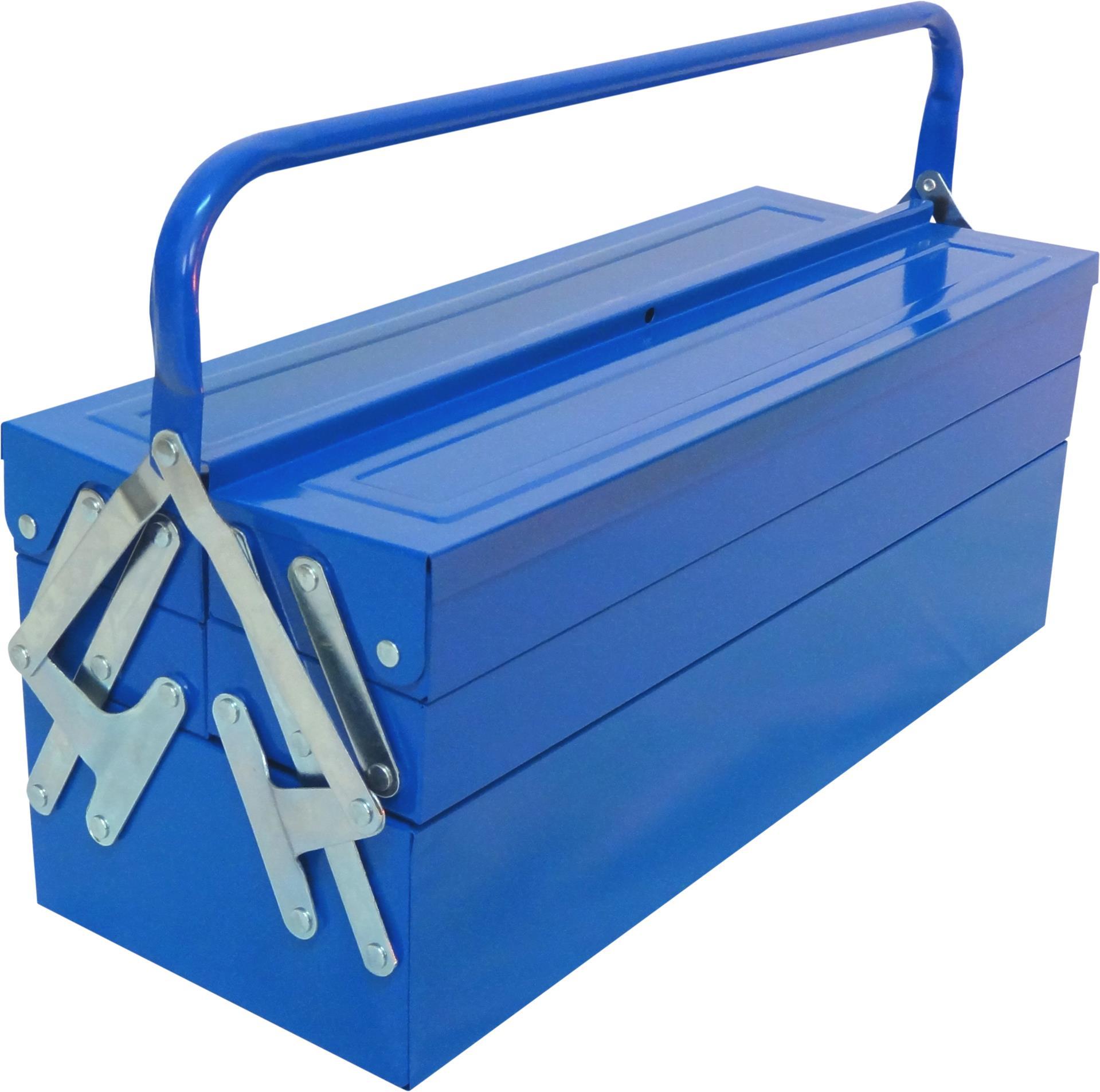 MADEIRA - Caixa de ferramentas MADER METÁLICA 465X200X200