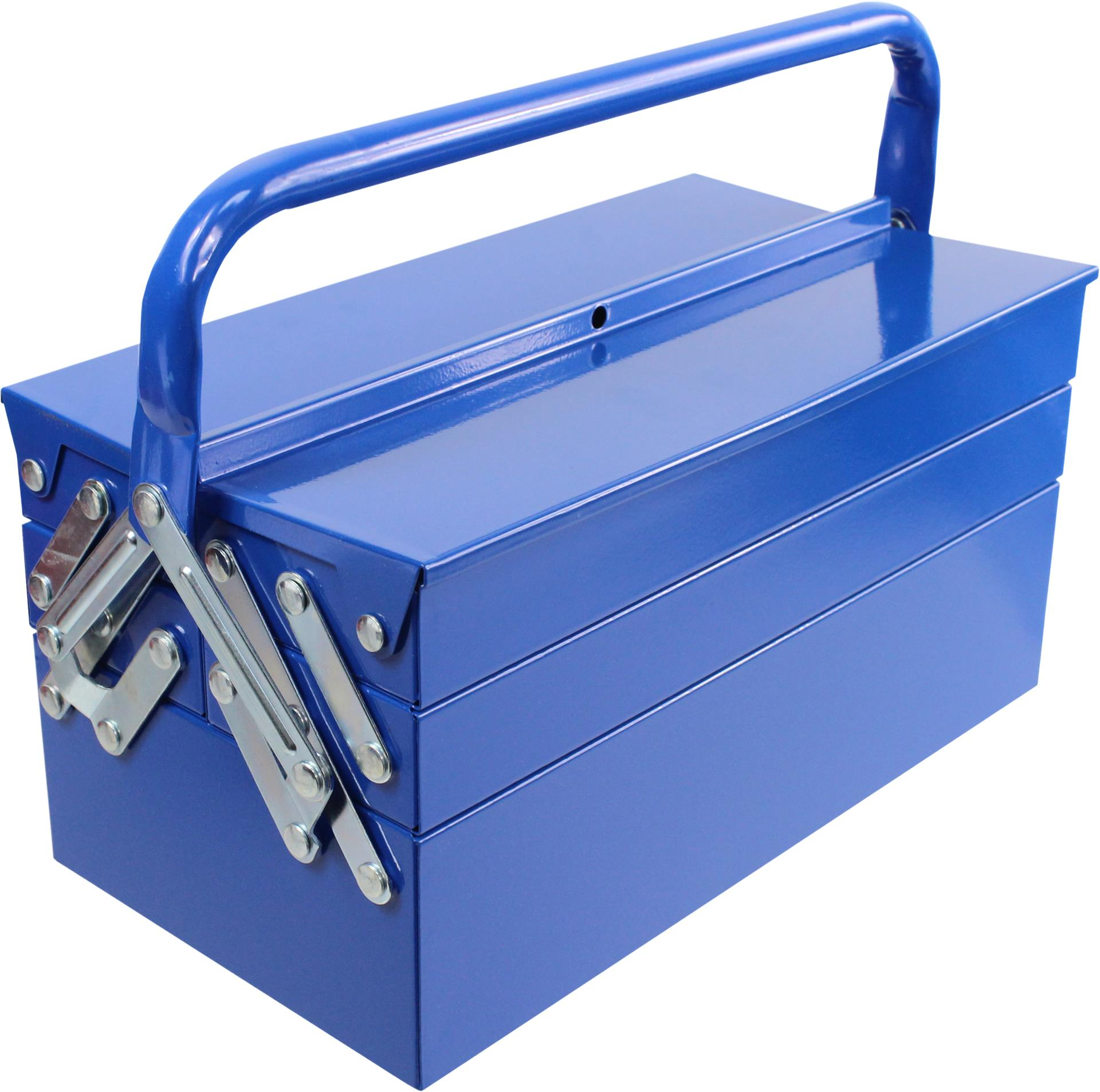 MADEIRA - Caixa de ferramentas MADER METÁLICA 310X160X155